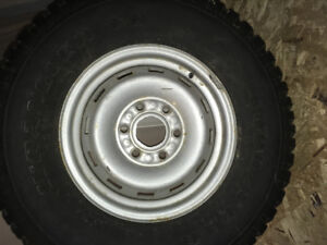 Tire....Spare from my old Yukon ..