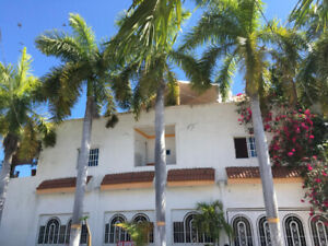 Beautiful home located in Mazatlan, master bedroom with jacuzzi