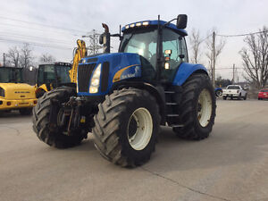 New Holland T8040 333hp tractor loaded, with air brakes for sale