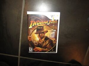 Wii Indiana Jones and the Staff of King game