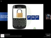 Blackberry BES pgp 6months service worldwide