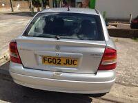 Vauxhall Astra 1.7DTi , £30 TAX/yr , 12 months MOT £550