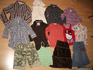 LOT 60 --- clothes for 10-11-12 year old girl