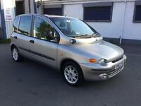 03 Fiat Multipla 1.9JTD 115 ELX top spec low mileage