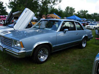 RARE 1978-88 MALIBU G BODY FACTORY 3 OR 4 SPEED CONVERSION