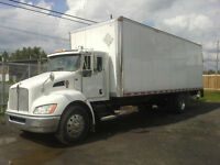Kenworth T-370 285 hp straight body 26'