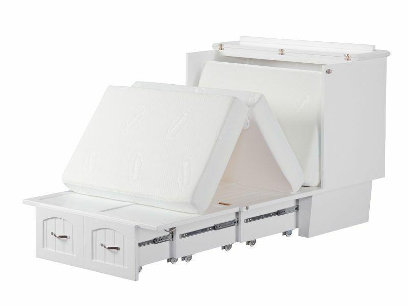 "Twin XL Coolsoft 6"" Folding Gel Memory Foam Mattress Atlanti"