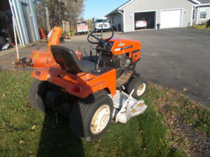 Ariens Garden Tractor S16, with front mount snow blower