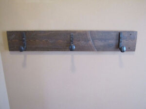 Reclaimed Barn Board Coat Hooks Cambridge Kitchener Area image 6