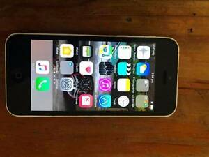 a white  iphone 5c some marks works grate in good nick Beenleigh Logan Area Preview