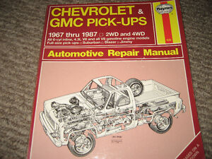 Chevrolet/GMC Pick-up Repair Manual