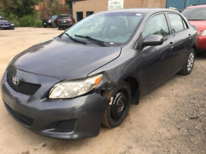 2010 Toyota Corolla with 118k just in for sale at Pic N Save!