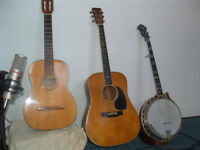 learn to play bluegrass guitar and banjo lessons. cobourg port h