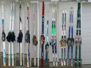 11 cross country skis packages /ski de fond