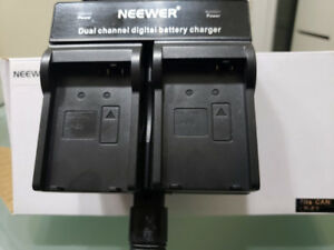 LP-E8 Dual channel digital battery charger for Canon EOS