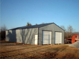 Steel Buildings for garages, storage buildings, workshops, etc