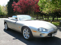1998 Jaguar XK8 4.0 auto, Full Service History, 12 Stamps in the Service Book