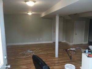 2 bedroom basement apartment Chuch and Rossland