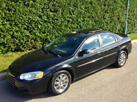 2004 CHRYSLER SEBRING LIMITED - CUIR, TOIT, MAGS - 123000KMS!!