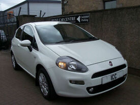 12 62 REG FIAT PUNTO 1.2 EASY LTD EDN 3DR BLUETOOTH PARK SENSORS ALLOYS CLIMATE