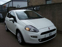12 62 REG FIAT PUNTO 1.2 EASY LTD EDN 3DR WHITE PARK SENSORS ALLOYS LOW TAX