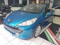 2007 Peugeot 207 1.6 16v GT 2dr Petrol blue Manual