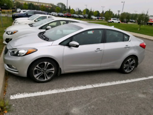 2014 Kia Forte EX GDI w/ winter tires on Rims