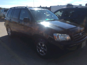 2005 Toyota Highlander Leather - Quick Sale - Leave Number