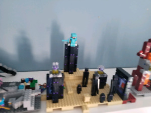 Lego minecraft lot