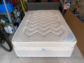 Double divan 2 drawers..can deliver