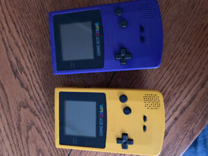 2 Gameboy Colors For Sale Or Trades ??? Both for $110