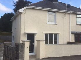 3 bedroom semi detached house in Glynneath for rent.
