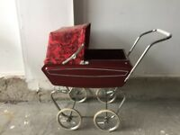 """ VINTAGE DOLL CARRIAGE """