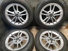 16 inch 5x112 genuine Mercedes A Class W177 alloy wheels