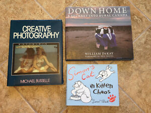 3 Different Books for Sale