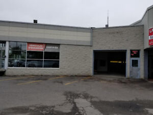 COMMERCIAL GARAGE MECANIQUE A LOUER MECHANIC GARAGE FOR RENT