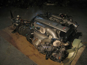 TOYOTA CHASER SOARER LEXUS 1JZ VVTI ENGINE 5SPEED R154 TRANS JDM