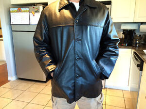 """""""Britches"""" men's leather jacket"""