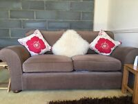 M&S two seater sofa & armchair EXCELLENT CONDITION