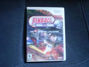 wii pinball hall of fame by william collection