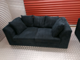 Cord 3 seater sofa local delivery available today