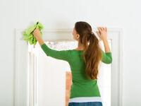 Femme de ménage professionnelle / Professional cleaning lady