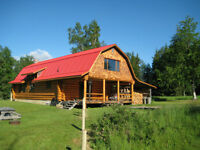 Spectacular View Acreage and House for Sale in Hazelton