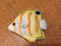 5 Ceramic fish drawer/door knobs