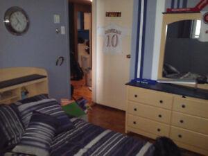 Set de chambre entier lit simple