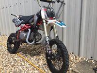 Pit bike stomp 140