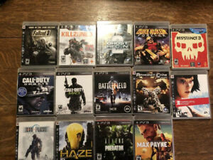 ps3 games all mint condition
