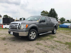 2010 Ford F-150 SuperCab 4.6L V8 w/Topper-New Tires- New Battery