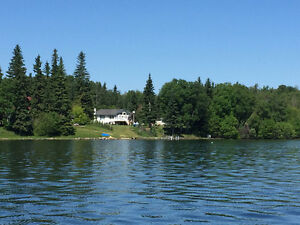 LAKEFRONT 230 ft on 4 acres in Cold Lake  MLS#E4076410