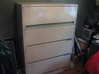 Lateral Filing Cabinet - 4 drawer